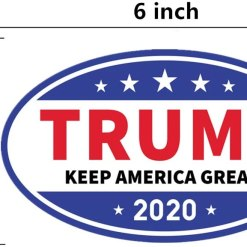 kortes10 PackDonald Trump Magnet for 2020 President United States, Trump Magnetic Bumper Sticker for Patriot and Election Time, Stick on Cars, Refrigerator Etc- Keep America Great, 6 X 3.5 Inch