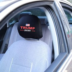Fast & Furious Donald Trump 2020 Headrest Covers, 2 Pack Printed Car Interior Accessories Headrest Covers for Donald Trump 2020