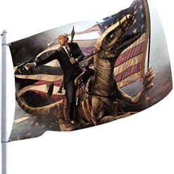 QIroseonly Donald Trump Flag 3X5 Foot - 2020 Trump President Flags Keep America Great Flag 3x5 ft with Brass Grommets MAGA