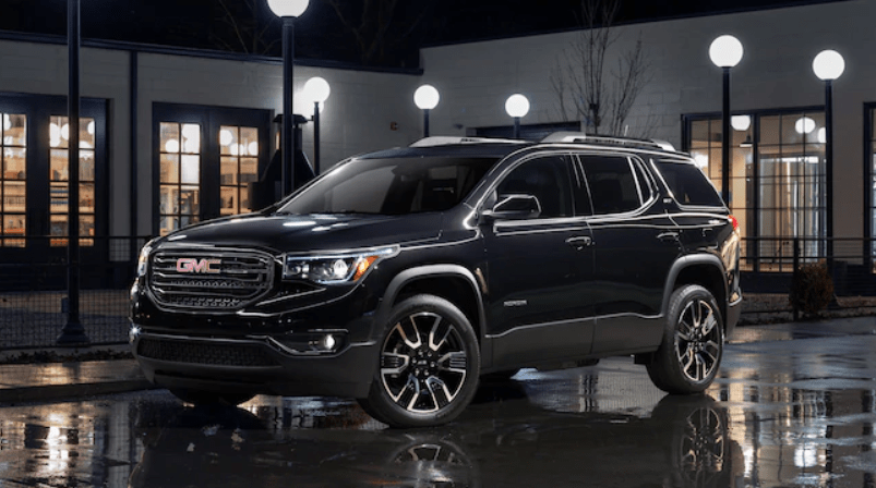 2021 gmc acadia sl specifications redesign cost  2021 gmc