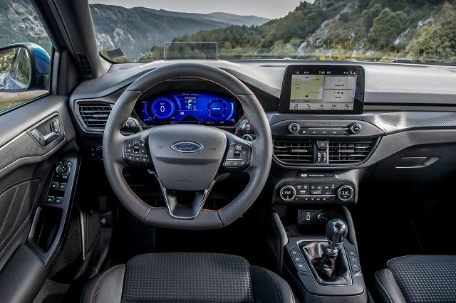 2021 Ford Focus New Interior