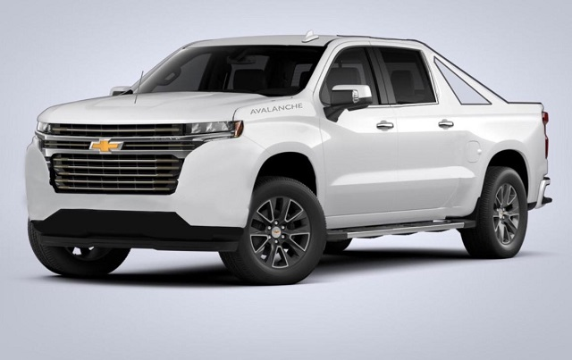 2021 Chevy Avalanche Concept render