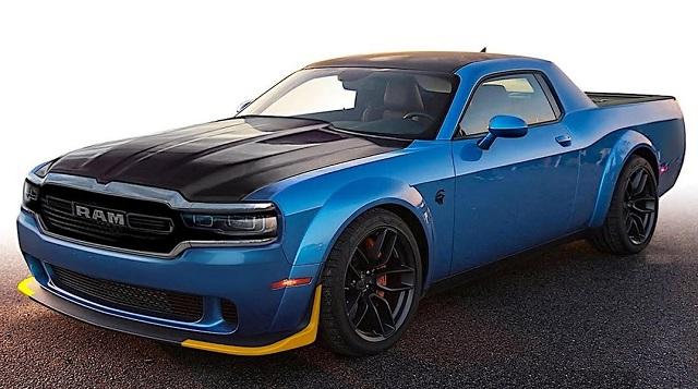 2021 Dodge Rampage Rendering Photo