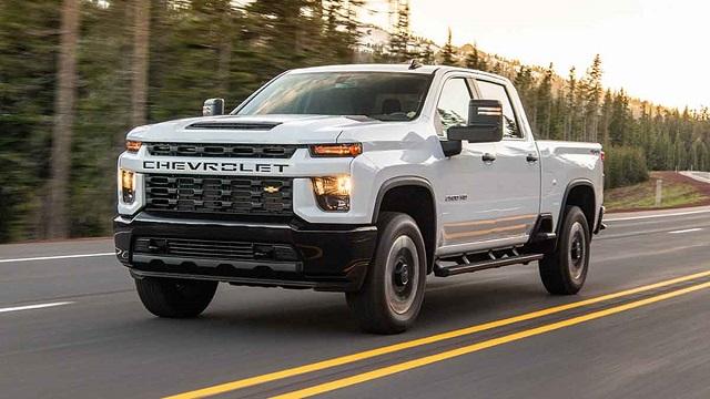 2022 Chevy Silverado 2500HD Diesel
