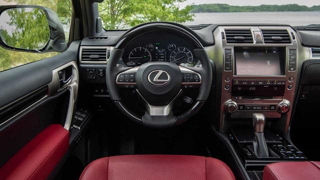 2022 Lexus GX Interior