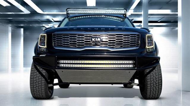 2022 Kia Pickup Truck Front