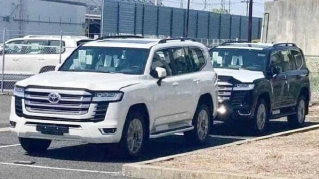 2022 Toyota Land Cruiser Spy Shot