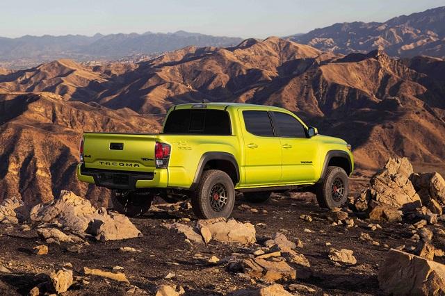 2022 Toyota Tacoma Redesign TRD Pro