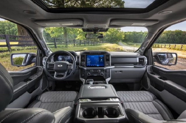 2022 Ford F-150 Diesel Interior