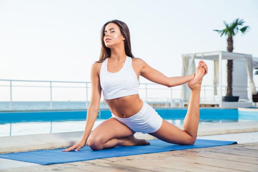 色気を出す方法1 適度な運動で、心身ともに健康になる