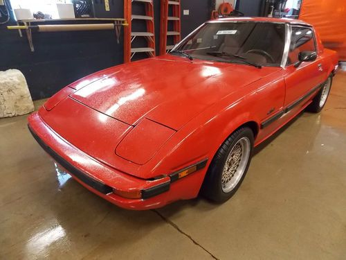 Purchase Used 1983 Mazda RX-7 Limited Edition T731345 In