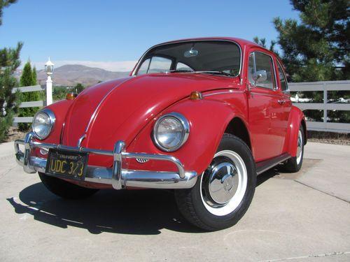 Buy Used All Original 1967 Volkswagen Vw Bug Beetle Type 1