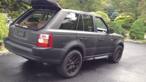 Purchase Used 2007 Land Rover Range Rover Sport HSE Sport
