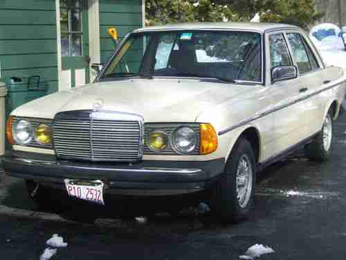 Sell Used 1983 Mercedes 300d Turbo Diesel, Excellent
