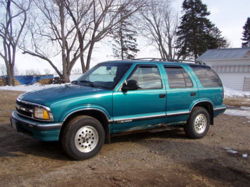 Purchase Used 1996 Chevy S10 Blazer 4x4 In Mora, Minnesota