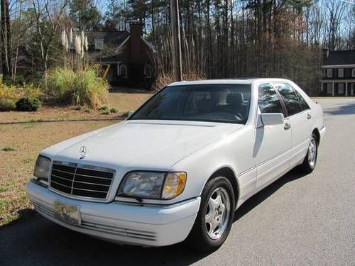Sell Used 1999 Mercedes Benz S420 Excellent Condition In
