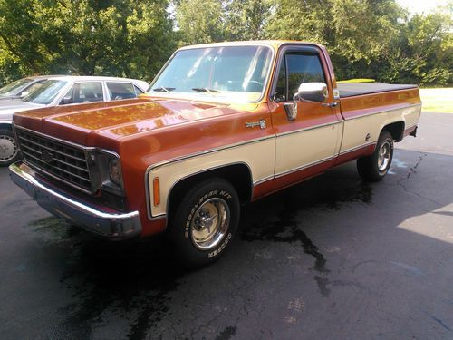 """Find Used 1976 Chevy C10 """"trailering Special"""" Longbed"""