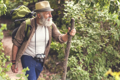 Use A Walking Stick As A Survival Tool