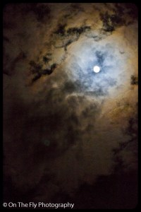 In fact there was a full moon that night.
