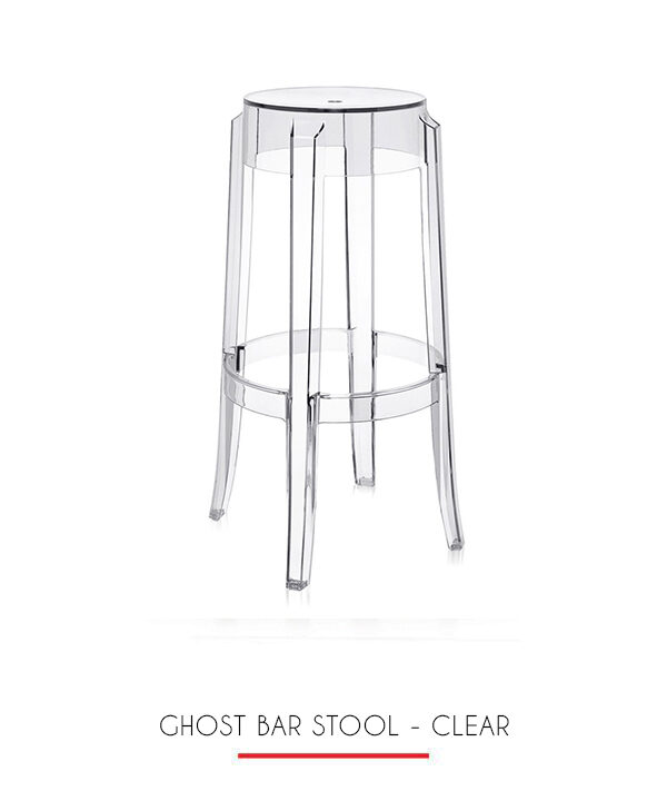 ghost bar chair swivel child stool clear 204 events