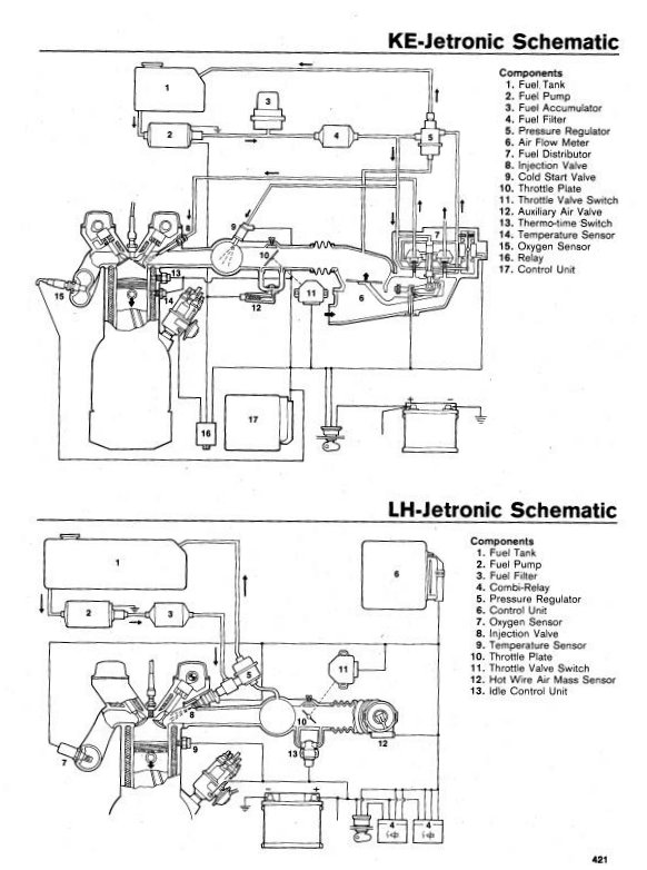 Bosch L Jetronic Wiring Diagram