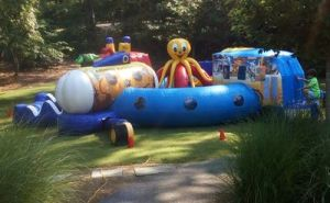 46Atlantis Fun Play land Obstacle course