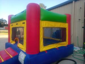 12Fun Indoor Out Bounce House Red