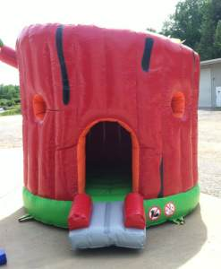 5Secret Tree house bounce house moonwalk