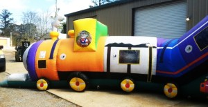 9Chuggy Choo Choo Obstacle Course Train Activity Center Front