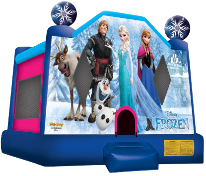 4Disney Frozen Bounce House