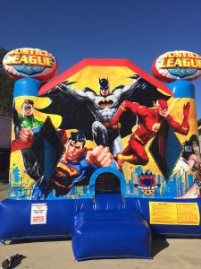 7Justice League Bounce House
