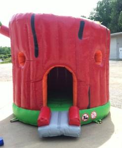 3Secret Tree house bounce house front