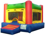 11Fun Indoor Red bounce house moonwalk