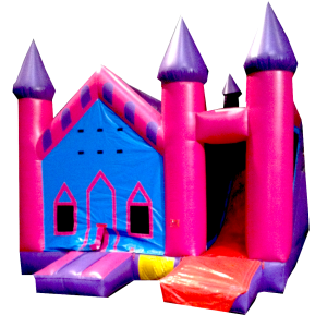 10Princess Palace Bounce House combo