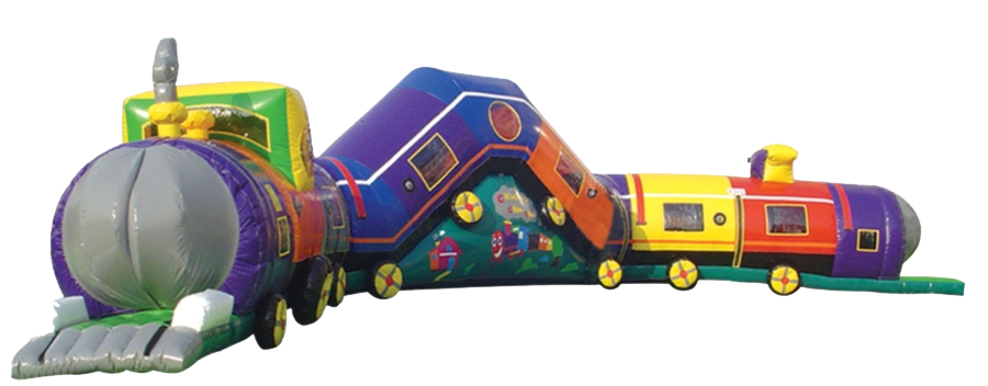 1Chuggy Choo Choo train obstacle course