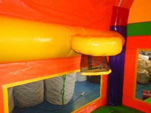 26Over the Rainbow bounce house combo