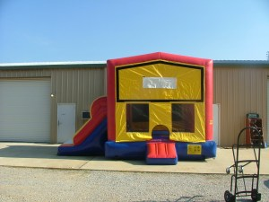 5Super Double Jumpy Jump bounce house combo