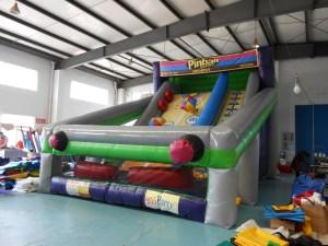 6Pinball action Dry slide