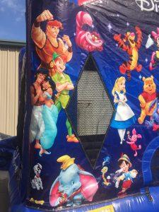 3World of Disney bounce house moonwalk