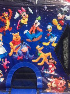 1World of Disney bounce house moonwalk