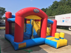 8Blast Zone Preschool Bounce House combo