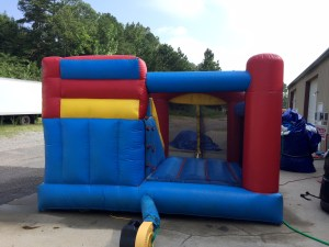 2Blast Zone Preschool Bounce House combo