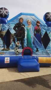 2Frozen Bounce House moonwalk