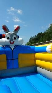 3Funny Bunny bounce house moonwalk