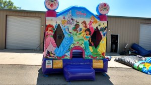 6Disney Princess bounce house moonwalk