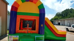 23Over the Rainbow bounce house combo