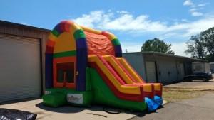 14Over the Rainbow bounce house combo