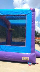 4Blue Play House Bounce House moonwalk