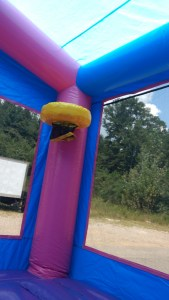 3Blue Play House Bounce House moonwalk