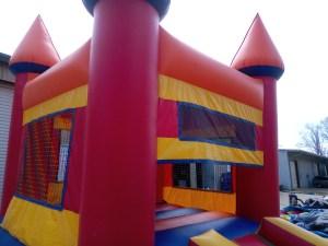 7Royal Castle Bounce House combo